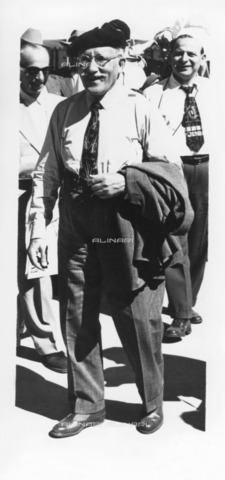 ULL-F-119747-0000 - The conductor Arturo Toscanini (1867-1957) in Sun Valley - Data dello scatto: 1950 - Ullstein Bild / Alinari Archives