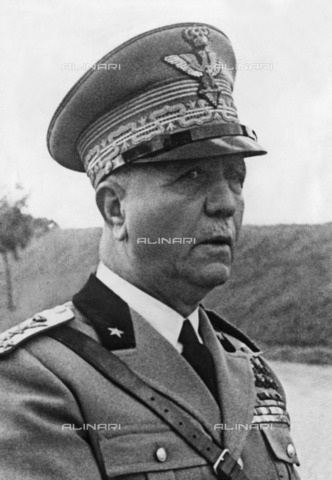 ULL-F-187548-0000 - Portrait of General Pietro Badoglio (1871-1956), first Duke of Addis Abeba and first Marquess of Sabotino - Data dello scatto: 02/07/1940 - Ullstein Bild / Alinari Archives