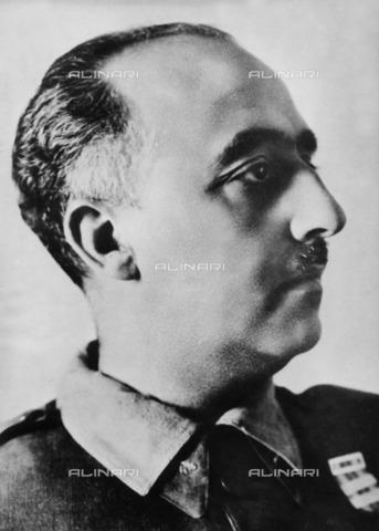 ULL-F-223611-0000 - Portrait of Spanish General Francisco Franco (1892-1975) also known as Generalísimo Franco or Caudillo de España - Data dello scatto: 1956 - dpa / Ullstein Bild / Alinari Archives