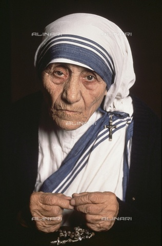 ULL-F-236265-0000 - Portrait of Mother Teresa of Calcutta (1910-1997) - dpa / Ullstein Bild / Alinari Archives