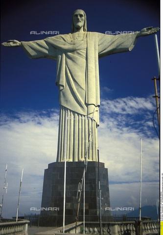 ULL-F-644653-0000 - The Cristo Redentor, Paul Landowski (1875-1961) and Heitor da Silva (1873-1947), Corcovado, Rio de Janeiro - Data dello scatto: 15/01/2003 - Martinez / Ullstein Bild / Alinari Archives