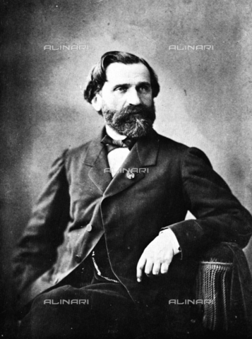 ULL-F-753046-0000 - The Italian composer Giuseppe Verdi (1813-1901) - Data dello scatto: 1867 ca. - histopics / Ullstein Bild / Alinari Archives