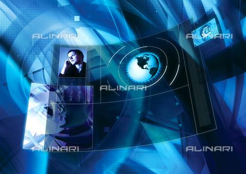 ULL-F-887323-0000 - Schermo Virtuale - Data dello scatto: 1 Gennaio 2006 - Insadco/Maciej / Ullstein Bild / Archivi Alinari