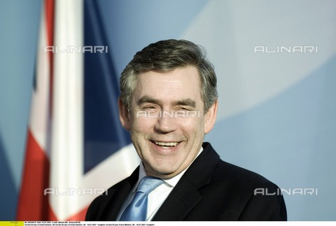 ULL-F-920679-0000 - Gordon Brown Prime Minister of United Kingdom - Date of photography: 16/07/2007 - Ullstein Bild / Alinari Archives, Boness/IPON