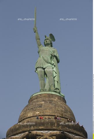 ULL-S-000105-6592 - Memorial of Arminio (Hermannsdenkmal), copper, Ernst von Bandel (1800-1876), Teutoburg Forest, Detmold - Data dello scatto: 01/05/2009 - Sven Simon / Ullstein Bild / Alinari Archives