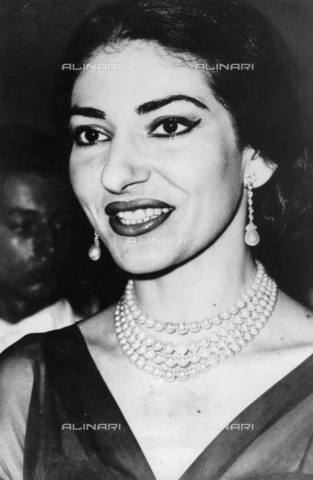 ULL-S-000107-6542 - The opera singer Maria Callas (1923-1977) - Data dello scatto: 1959 - Ullstein Bild / Alinari Archives