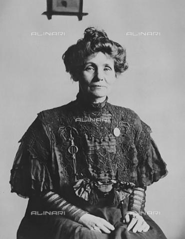 ULL-S-000107-9873 - Emmeline Pankhurst (1858-1928), British activist and politician, exponent of the feminist suffragette movement - Data dello scatto: 1912 - Ullstein Bild / Alinari Archives