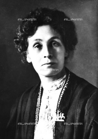 ULL-S-000107-9883 - Emmeline Pankhurst (1858-1928), British activist and politician, exponent of the feminist suffragette movement - Data dello scatto: 1880 ca. - Ullstein Bild / Alinari Archives