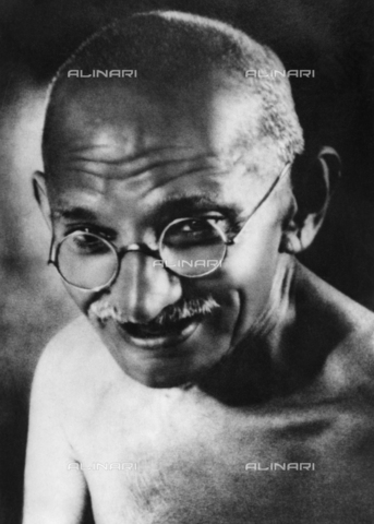ULL-S-000110-0954 - The leader of the Indian independence movement Mahatma Gandhi (1869-1948) - Data dello scatto: 1940 - Ullstein Bild / Alinari Archives