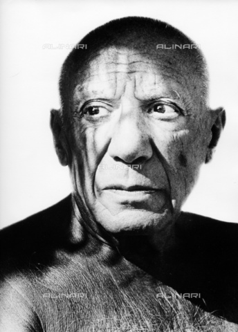 ULL-S-000165-4827 - The Spanish artist Pablo Picasso (1881-1973) - Data dello scatto: 1960 - Fondation Horst Tappe / Ullstein Bild / Alinari Archives