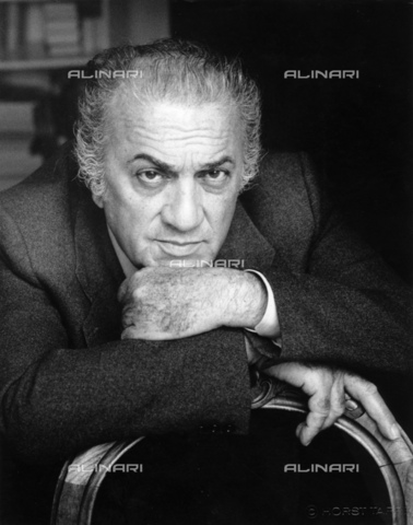 ULL-S-000165-4984 - The Italian director Federico Fellini (1920-1993) - Data dello scatto: 1985 - Fondation Horst Tappe / Ullstein Bild / Alinari Archives