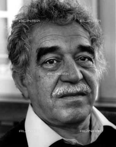 ULL-S-000165-6483 - The writer Gabriel Garcia Marquez (1927-2014) - Data dello scatto: 1995 - Fondation Horst Tappe / Ullstein Bild / Alinari Archives