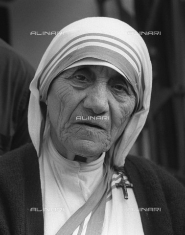 ULL-S-000276-8787 - Portrait of Mother Teresa of Calcutta (1910-1997) - Sven Simon / Ullstein Bild / Alinari Archives