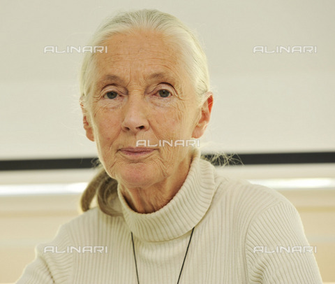 ULL-S-000713-8402 - Dame Valerie Jane Morris-Goodall, known as Jane Goodall (1934-), English ethologist and anthropologist - Data dello scatto: 2009 - RDB / Sobli / Ullstein Bild / Alinari Archives