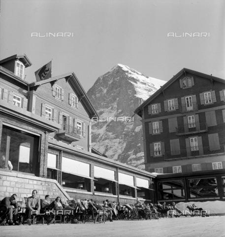 ULL-S-000727-0870 - Hotel Bellevue des Alpes, Kleine Scheidegg - Data dello scatto: 01/12/1941 - RDB / Ullstein Bild / Alinari Archives