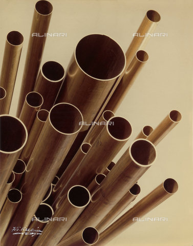 VAA-F-005001-0000 - Composition of brass tubes for the Italian Metallurgical Society.
