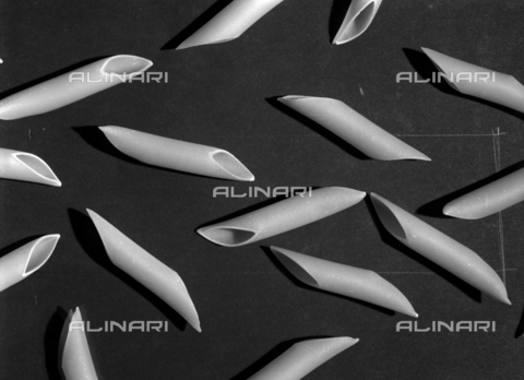 VBA-S-005983-0005 - Penne, pasta; advertising image of the Bodonian Lithograph - Date of photography: 18/09/1965 - Alinari Archives-Villani Archive, Florence
