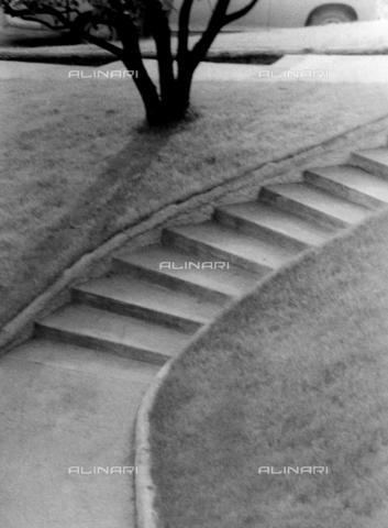 VZA-F-000471-0000 - Composizione nei pressi dell'Hotel Metropole a Montecarlo. La scala del giardino - Data dello scatto: 1968 ca. - Raccolte Museali Fratelli Alinari (RMFA)-archivio Vannucci Zauli, Firenze