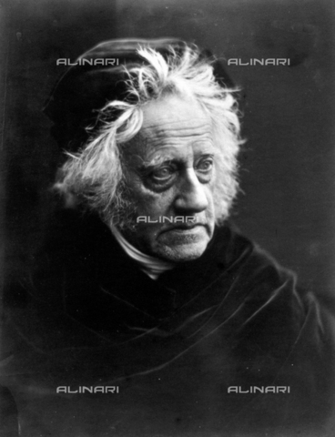 WHA-S-WHA041-0457 - Sir John Herschel with Cap by Julia Margaret Cameron (11 June 1815  26 January 1879) British photographer. She became known for her portraits of celebrities. Sir John Herschel was an English astronomer, mathematician and scientist. - World History Archive/Archivi Alinari