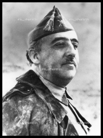 WHA-S-WHA064-0202 - Portrait of Spanish General Francisco Franco (1892-1975) also known as Generalísimo Franco or Caudillo de España - Data dello scatto: 1936 - World History Archive/Alinari Archives