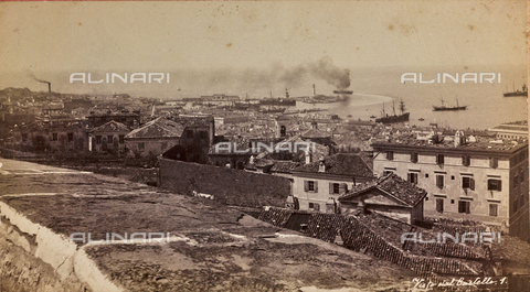 WSA-F-000557-0000 - Panorama di Trieste dal Castello di San Giusto sul colle omonimo - Data dello scatto: 1885 ca. - Archivi Alinari, Firenze