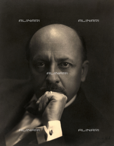 WSA-F-002588-0000 - Portrait of the Futurist writer, Filippo Tommaso Marinetti
