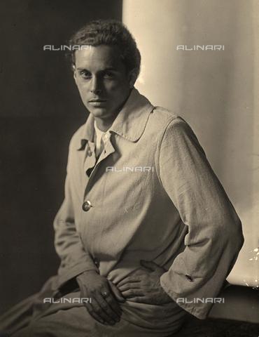 WSA-F-002602-0000 - Ritratto del pittore Dyalma Stultus. - Data dello scatto: 1930 ca. - Archivi Alinari, Firenze