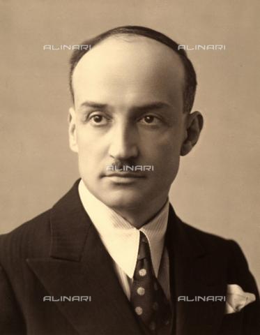 WSA-F-002609-0000 - Portrait of the Engineer Filippo Zappata - Data dello scatto: 1933 - 1943 - Archivi Alinari, Firenze