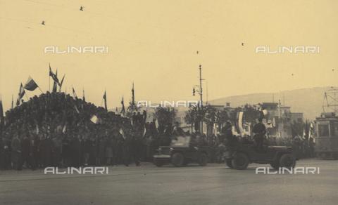 """WSA-F-003733-0000 - """"La collina del pianto"""" a Trieste - Data dello scatto: 26/03/1946 - Archivi Alinari, Firenze"""