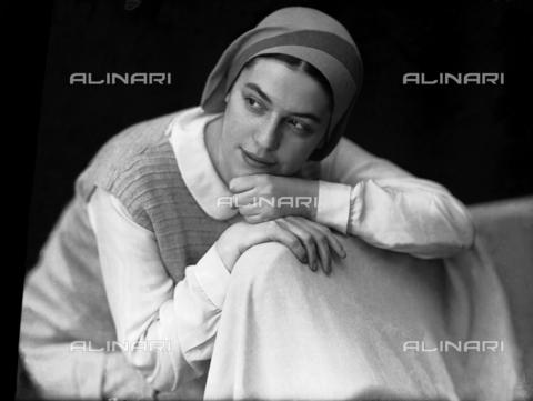 WWA-F-003010-0000 - Portrait of Anita Pittoni - Data dello scatto: 1940 ca - Archivi Alinari, Firenze