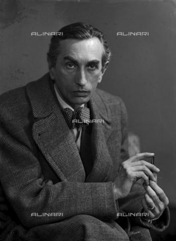 WWA-F-006203-0000 - Portrait of the painter Edmondo Passauro (1893-1969) - Data dello scatto: 1935-1936 - Archivi Alinari, Firenze