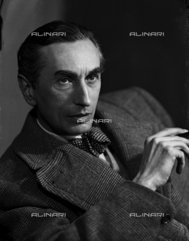 WWA-F-006204-0000 - Portrait of the painter Edmondo Passauro (1893-1969) - Data dello scatto: 1935-1936 - Archivi Alinari, Firenze