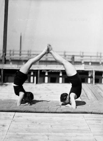 WWA-F-006729-0000 - Two women exercising