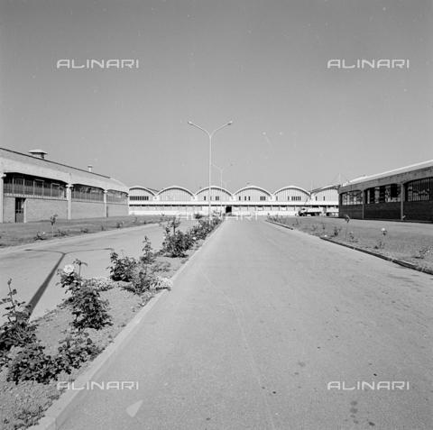 ZIA-S-210300-0033 - Stabilimento per la vendita di elettrodomestici Rex, Pordenone - Data dello scatto: 10/1962 - Raccolte Museali Fratelli Alinari (RMFA)-archivio Zannier, Firenze
