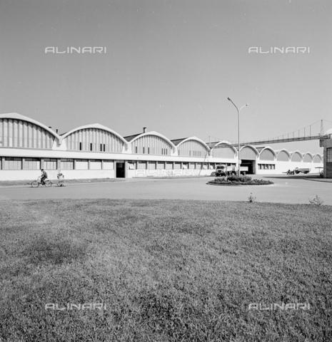 ZIA-S-210300-0035 - Stabilimento per la vendita di elettrodomestici Rex, Pordenone - Data dello scatto: 10/1962 - Raccolte Museali Fratelli Alinari (RMFA)-archivio Zannier, Firenze