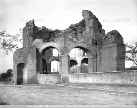bga-f-008495-0000 - Tempio di Minerva Medica, 81-96 d. C., Roma - Data dello scatto: 1890 ca. - Archivi Alinari, Firenze