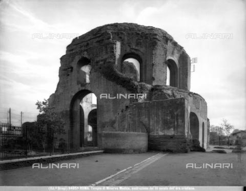 bga-f-08495a-0000 - Tempio di Minerva Medica, 81-96 d. C., Roma - Data dello scatto: 1890 ca. - Archivi Alinari, Firenze