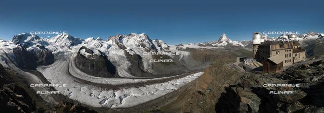 Matterhorn (Cervino) from Gronergrat, Zermatt, Vallese; Switzerland; Europa