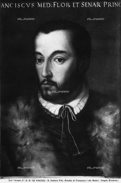 Portrait of Francesco I, Galleria Palatina, Florence