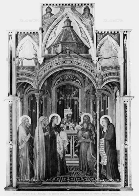 Presentation at the Temple, Galleria degli Uffizi, Florence