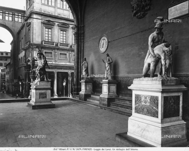 Loggia della Signoria or Loggia dei Lanzi, Piazza della Signoria, Florence