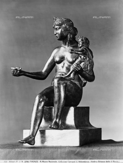 Allegory of Abundance, Museo Nazionale del Bargello, Florence