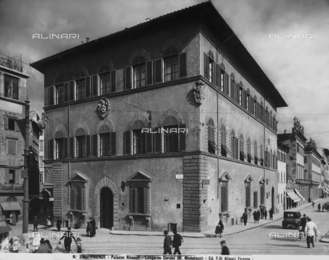 Palazzo Ricasoli, Piazza Goldoni, Florence