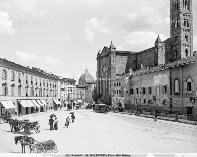 Piazza della Stazione in Florence