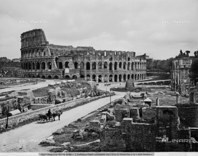 Anfiteatro Flavio o Colosseo, Roma
