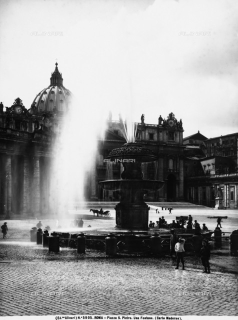 Fountain, St. Peter's Square, Vatican City