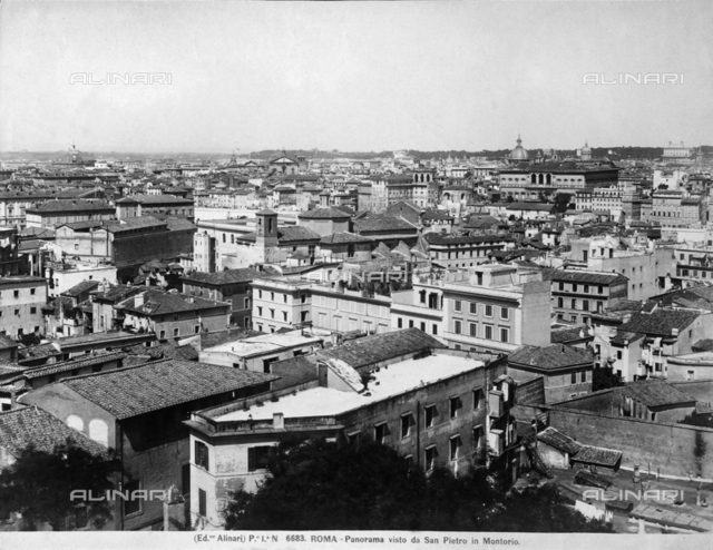 Rome from St. Peter in Montorio
