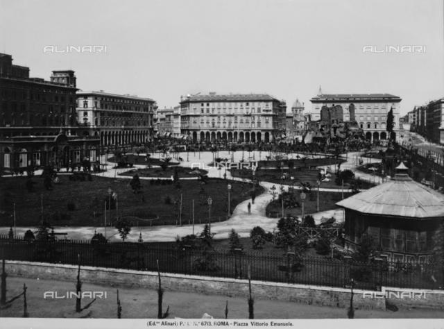 Victor Emmanuel II Square in Rome