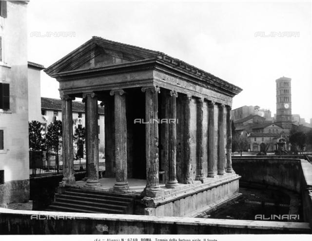 Temple of Portuno (Church of Santa Maria Egiziaca), formerly the Temple of Fortuna Virilis, Rome
