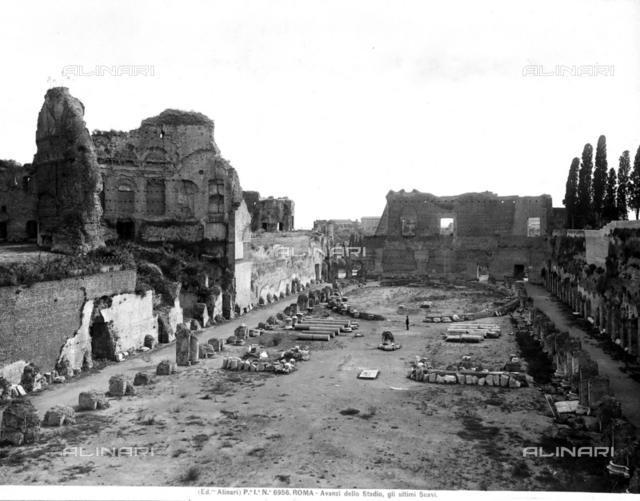 Palatine Hill Stadium; Rome, Palatine Hill